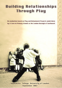cover of goldsmiths building relationships through play study of covo's work
